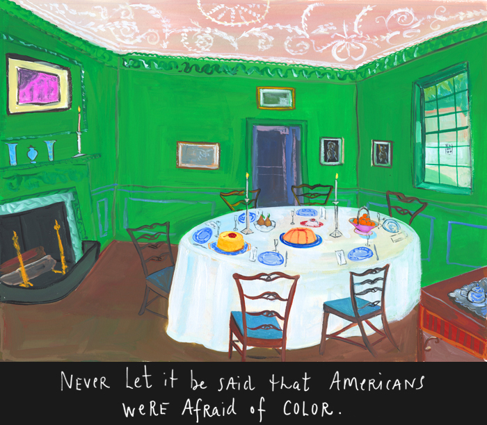 (All images by Maira Kalman courtesy of The New York Times)